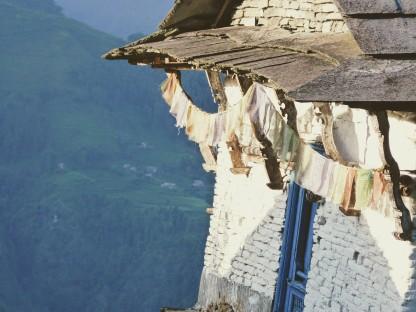 Mantras al viento. Nepal.